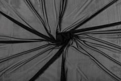 Сетка эластичная чёрная