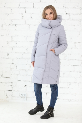 Куртка для беременных 10838 серый