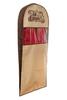 Чехол для костюма длинный 130х60х10, Париж, Шоколадный Париж