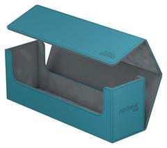 Ultimate Guard - Бирюзовая кожаная коробочка для хранения 400+ карт