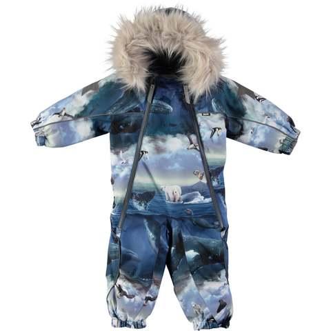 Комбинезон Molo Pyxis Fur Arctic Landscape зимний