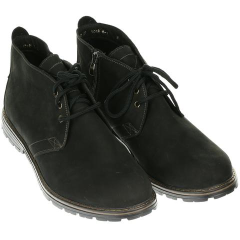 566483 ботинки мужские черные байка. КупиРазмер — обувь больших размеров марки Делфино