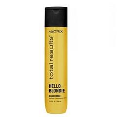 Matrix Total Results Blonde Care Shampoo - Шампунь для натуральных и окрашенных светлых волос