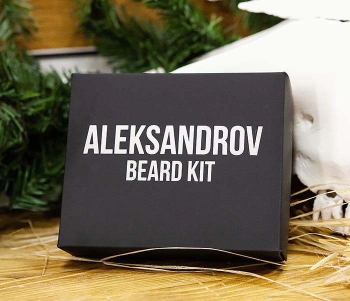 CARE120 Набор для бороды ALEKSANDROV «Christmas»: масло и бальзам, воск для усов фото 02