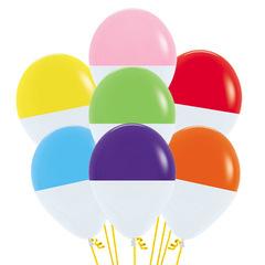 Букет из Воздушных шаров Биколор