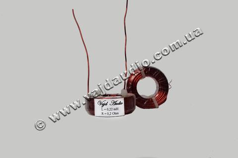 Катушка индуктивности Vajd Audio 0,22 mH* 0,2 Ohm* 1 mm