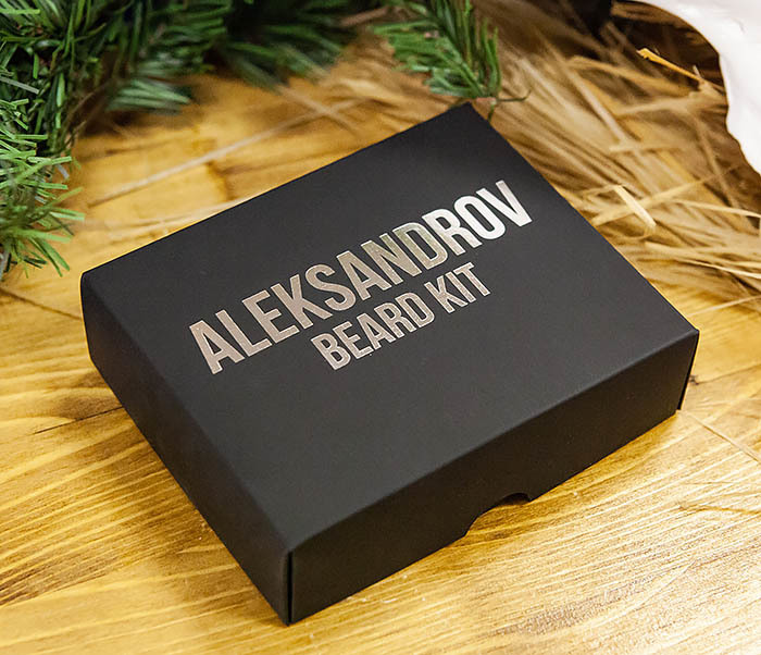 CARE120 Набор для бороды ALEKSANDROV «Christmas»: масло и бальзам, воск для усов фото 03