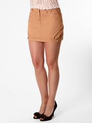 2070-3 юбка светло-коричневая