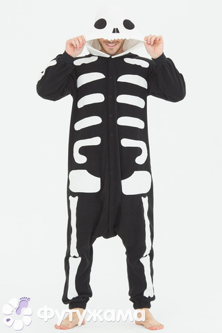 "Пижама-кигуруми Футужама ""Скелет"""