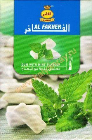 Al Fakher - Жвачка с мятой, 50 грамм
