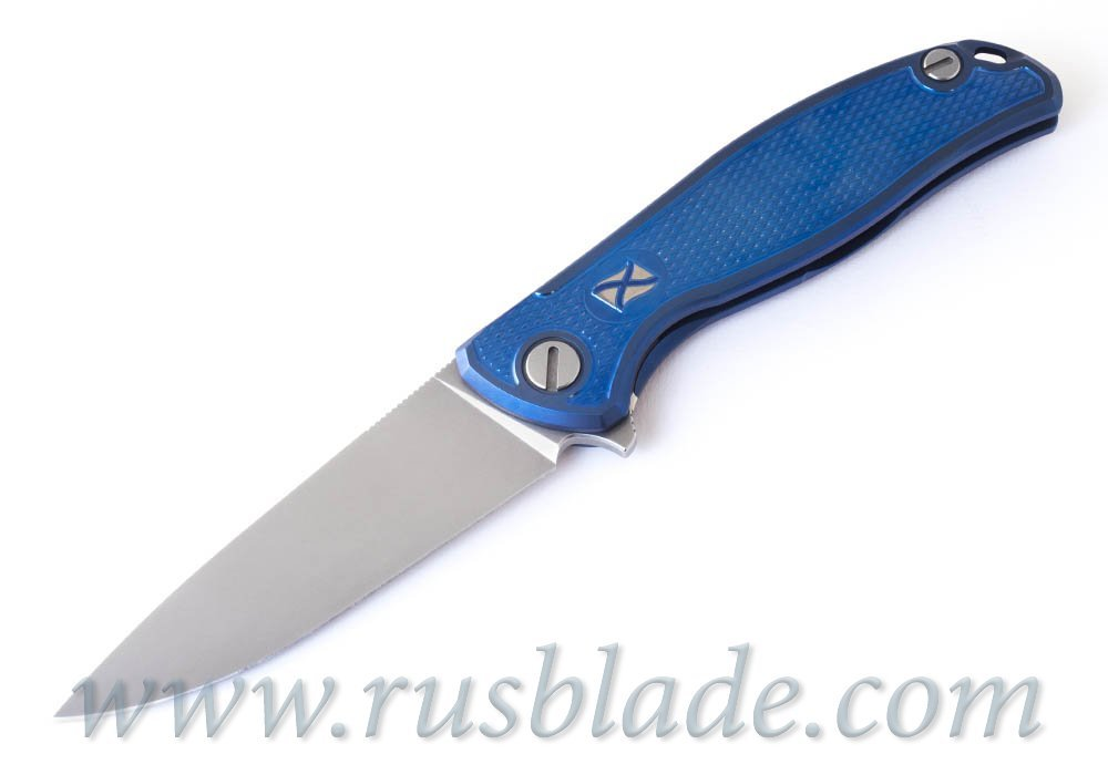 CUSTOM Shirogorov F95 Navy FLAG S30V