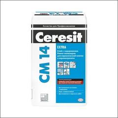 Клей для плитки для внутренних и наружных работ CERESIT СМ 14 (белый)