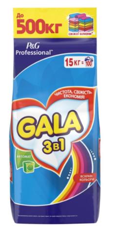 Стиральный порошок Gala 15 кг