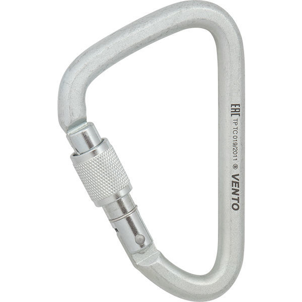 Карабин «Стальной увеличенный» с муфтой keylock (ЕАС)