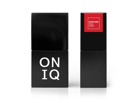 Гель-лак ONIQ - 203  Flame scarlet, 10 мл