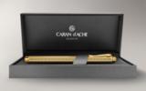Carandache Ecridor Chevron gilded латунь позолота (838.208)