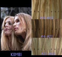 Набор мега 9 прядей #18-#613-мелированные волосы-38 см
