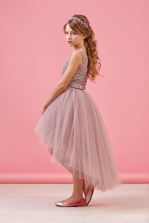 Комплект (блузка, юбка) для девочки 64-8009-5