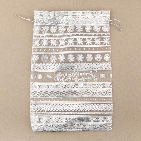 Мешочек «Волшебного Нового Года», органза, 10×12 см