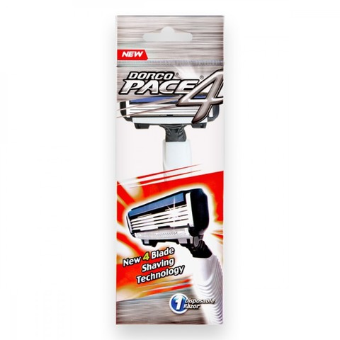 Dorco PACE 4 Одноразовый станок для бритья с 4 лезвиями