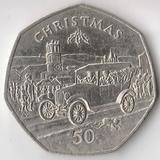 K6236, 1983, Остров Мэн, 50 пенсов Рождество Christmas