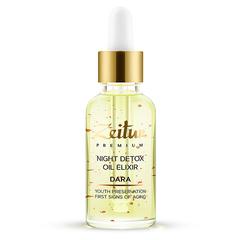 Ночной детокс-эликсир для лица DARA с 99.9% медью, Zeitun