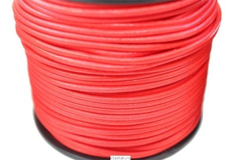 Линь Dyneema красный D 2мм, 220 кг, за 1 метр