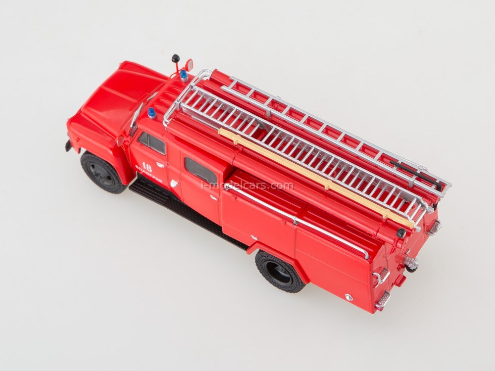 GAZ-53 Fire-fighting tank AC-30 (53) 1:43 Our Trucks (limited edition)