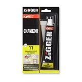 Герметик силиконовый ZIGGER Silicone Acetate 11 50мл (15шт/кор)
