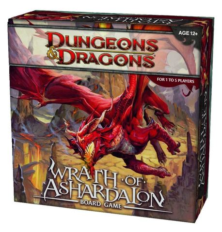 Настольная игра Dungeons & Dragons: Wrath of Ashardalon (D&D)