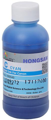 Чернила DCTec PFI-1700C, PFI-120C, PFI-320C голубой (cyan). 200мл пигмент (193540)