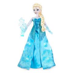 Кукла Эльза Холодное сердце поющая 40 см со скипетром