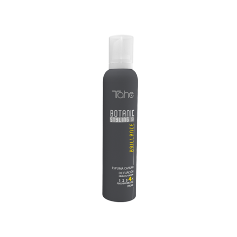 Botanic Styling Brillance Mousse Fixing level 4 Мусс для придания естественного блеска волосам степень фиксации 4, 250 мл