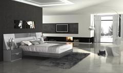 Кровать Fenicia Mobiliario 505 MARBELLA-Gris
