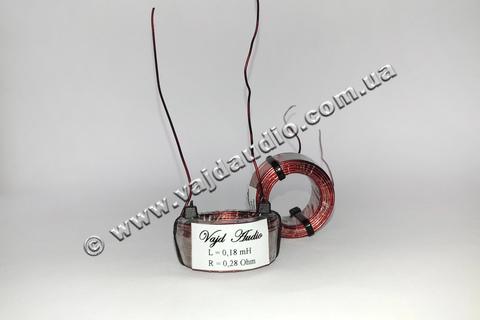 Катушка индуктивности Vajd Audio  0,18 mH* 0,28 Ohm* 0,8 mm