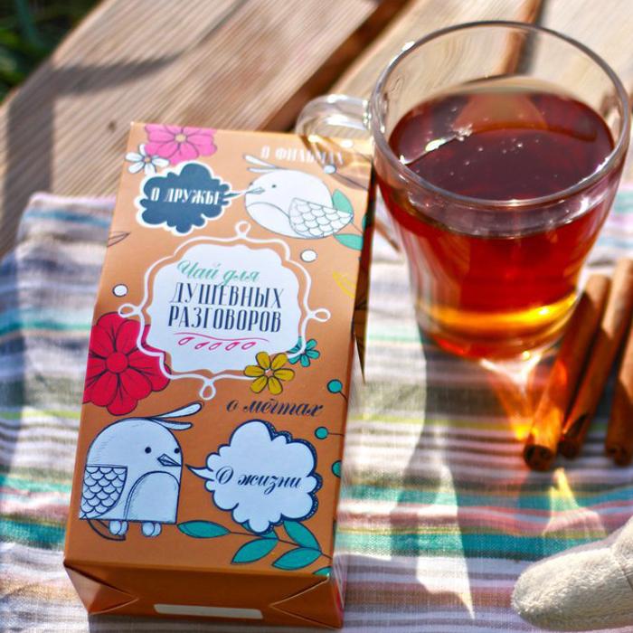 Подарочный чай ДЛЯ ДУШЕВНЫХ РАЗГОВОРОВ