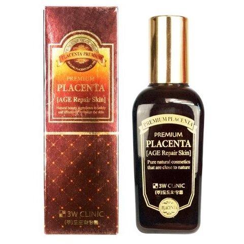 3W CLINIC Premium Placenta Age Repair Skin Антивозрастной скин для лица с ПЛАЦЕНТОЙ
