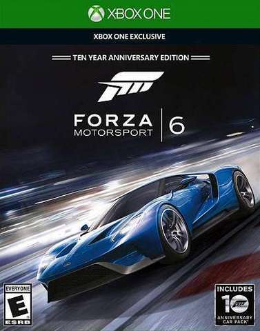 Microsoft Xbox One Forza Motorsport 6 - Ten Year Anniversary Edition (русские субтитры)