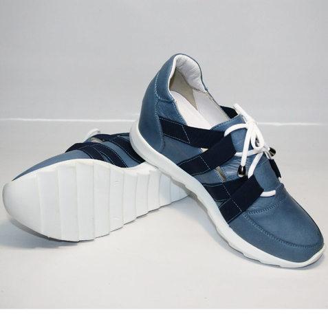 706311b06 Сникерсы кроссовки Ledy West 1484 115 Blue. В наличии