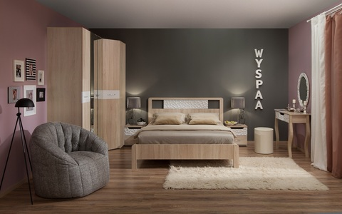 Спальня WYSPAA-3 Глазов дуб сонома