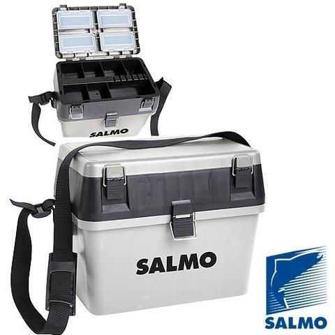 Ящик рыболовный зимний Salmo 2-х ярус. 38x24.5x29см