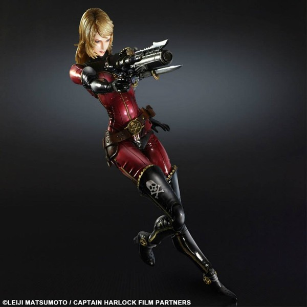 Space Pirate Captain Harlock Play Arts Kai - Kei Yuki