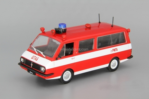 RAF-22034 Fire Engine Staff USSR 1:43 DeAgostini Service Vehicle #12