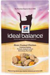 Пауч для кошек Hill's Ideal Balance Feline Adult Курица