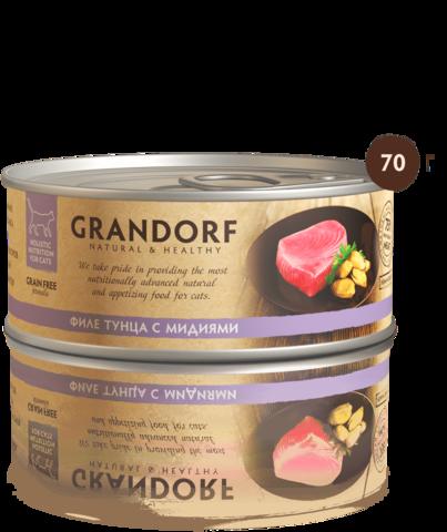 Консервы Grandorf Tuna with Mussel in Broth