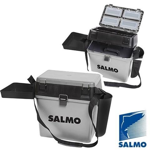Ящик рыболовный зимний Salmo 2-х ярус.