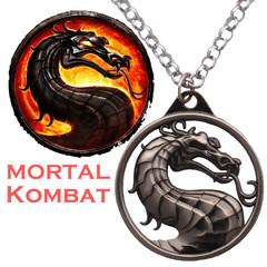 Mortal Kombat Dragon Pendant