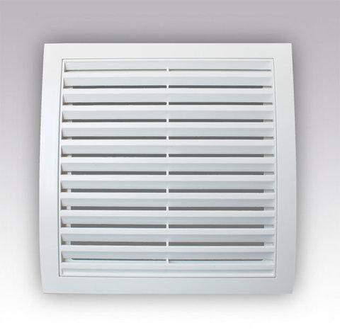 Решетка вентиляционная разъемная 200х200 (2020РР Белый)