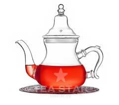 """Чайник заварочный """"Кинг"""" 800 мл, стеклянный"""