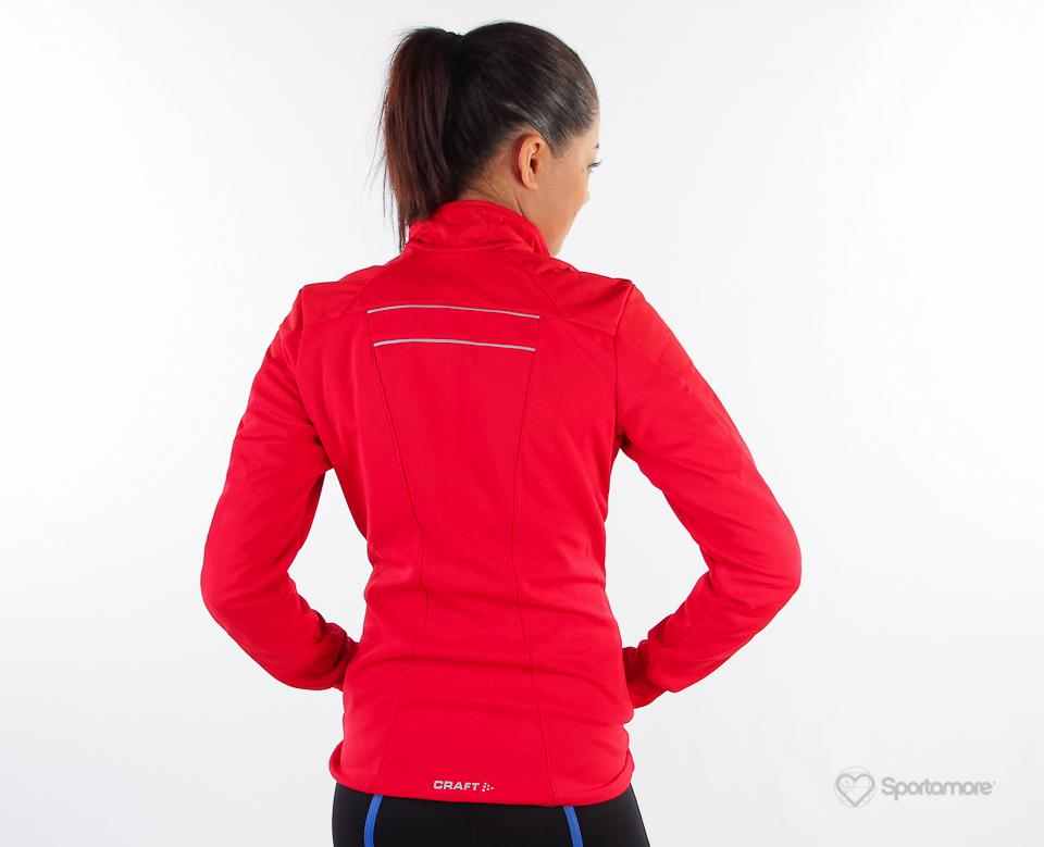 Женская лыжная куртка Craft Storm (194663-1430) красная